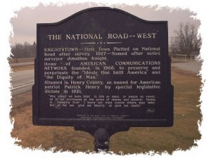Historic National Road - Click on photo to view a larger image